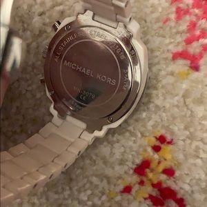 Michael Kors Accessories - White Michael Kors Watch